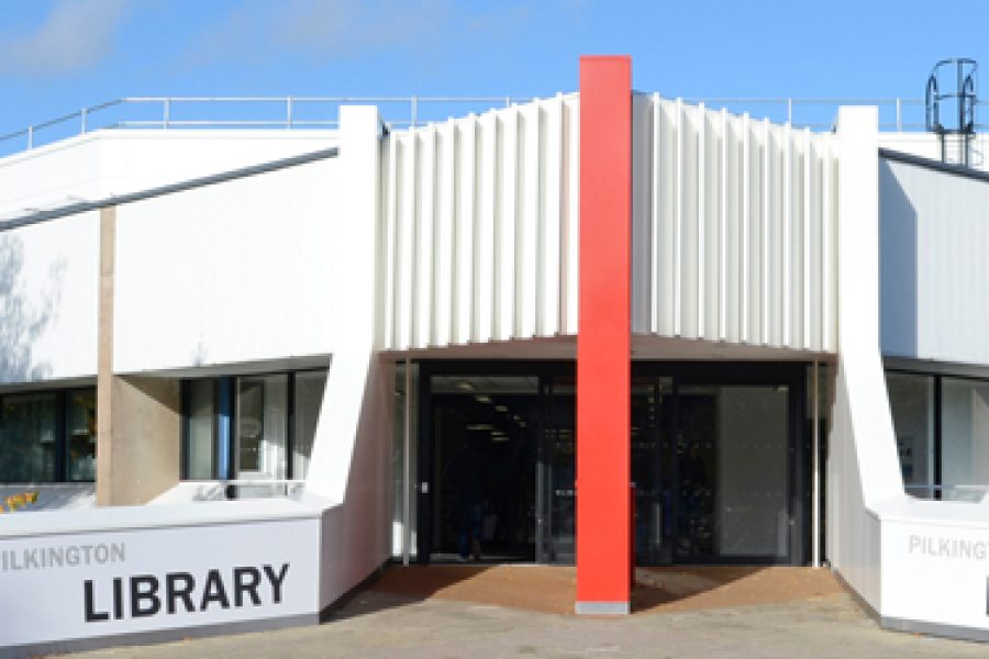 Digitally Printed Window Film for Loughborough University Library