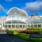 Large conservatory with lots of glass